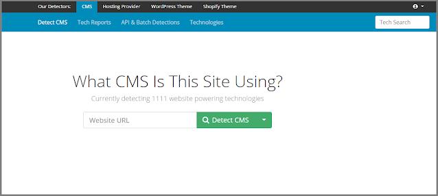 cara mengetahui jenis cms pada sebuah website