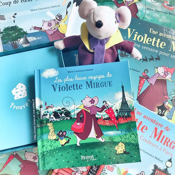 Coffret : Les plus beaux voyages de Violette Mirgue