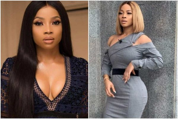 Toke Makinwa leaks her 'nvde', after fraudster tried to blackmail her