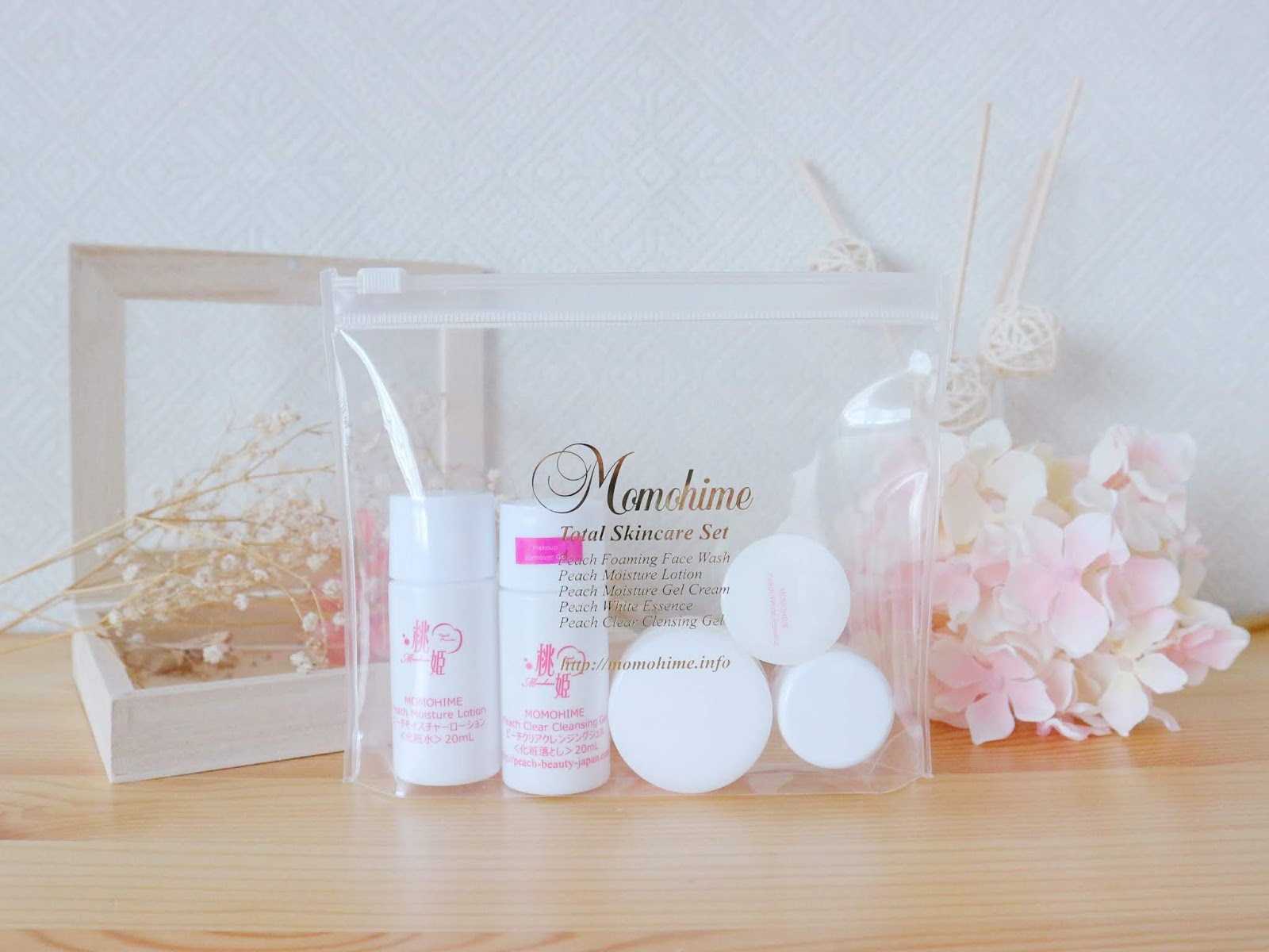 Momohime Skincare Travel Size Sets Now Available! / Welcome