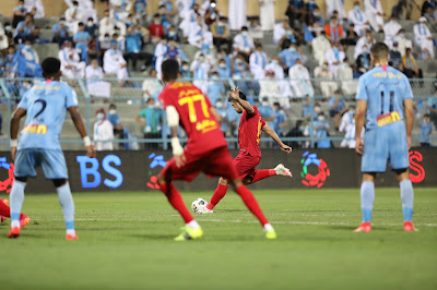ملخص اهداف مباراة ضمك والباطن (2-0) الدوري السعودي