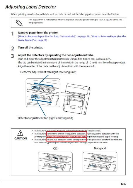 C6500 Label Detector Instructions