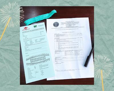 Formulir Rekam Medik dan Pernyataan Bebas Covid-19