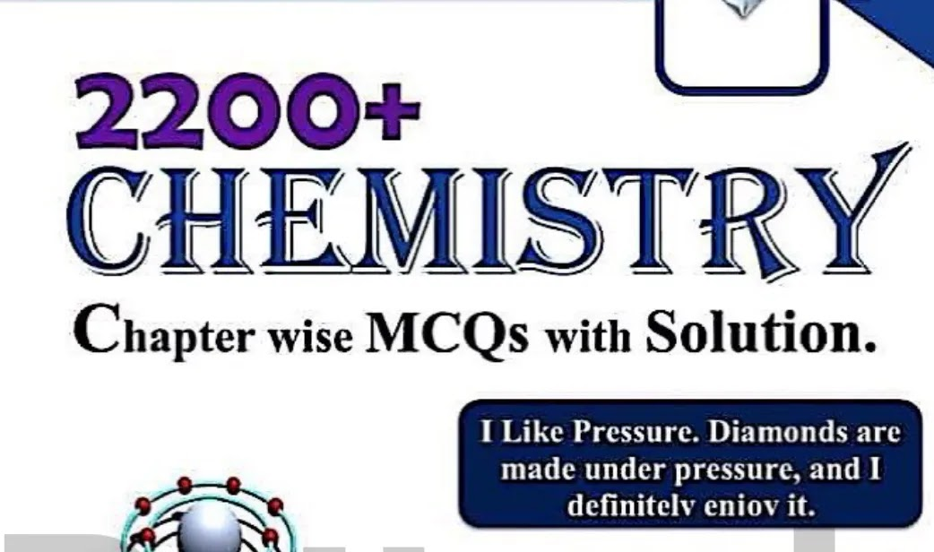Solved Chemistry MCQs for MDCAT, NUST, ETEA and NTS pdf Download
