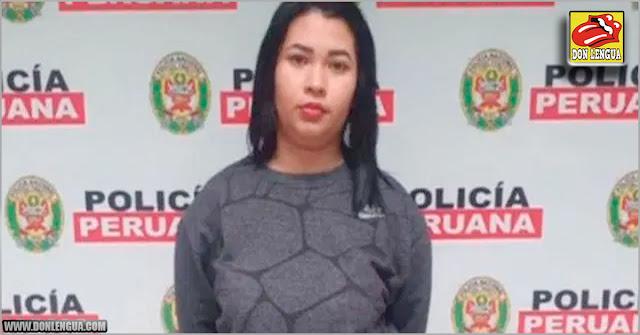 Otra venezolana capturada en Perú por relación con el descuartizamiento