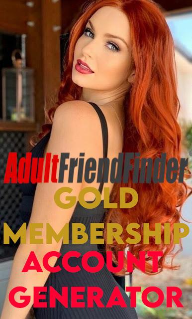 AdultFriendFinder - GOLD Membership [Account Generator]