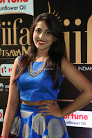 Madhu Shalini Looks Super Cute Slim trim Blue Choli Ghagra IIFA Utsavam Awards 041.JPG