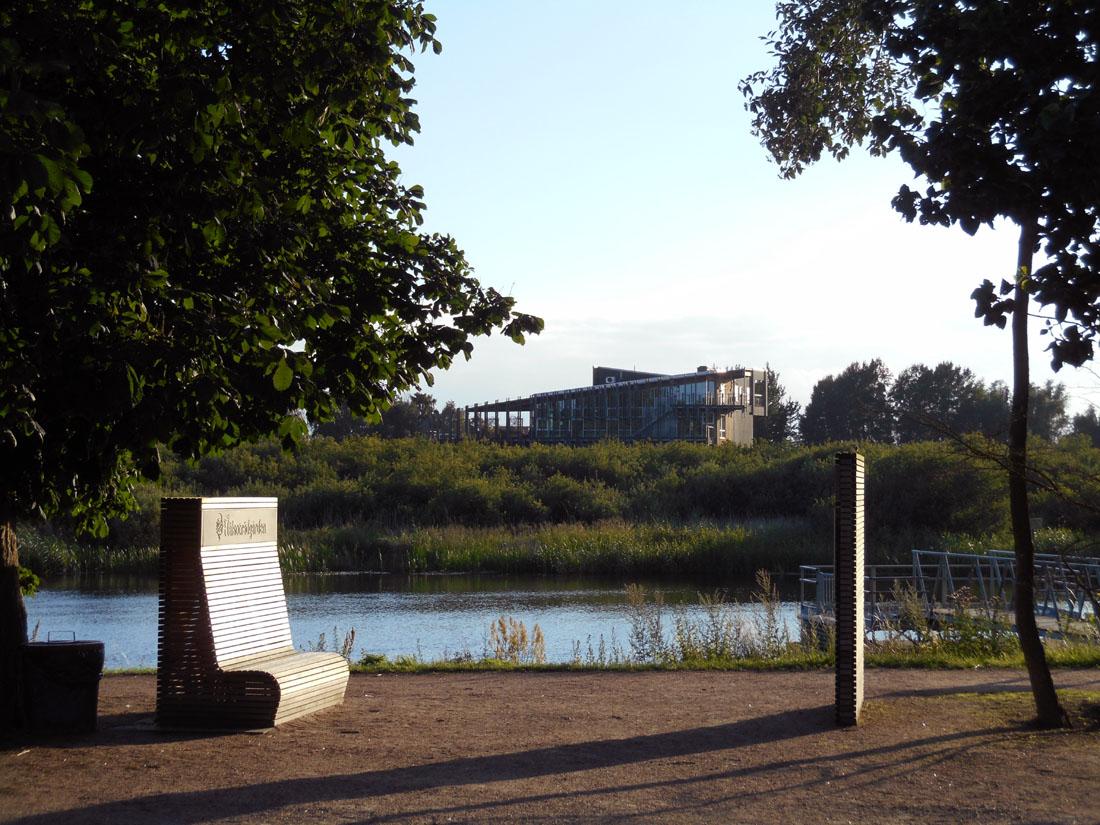 Hälsoträdgården, Kristianstad