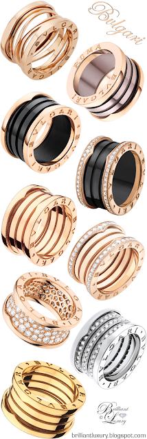 Bvlgari B.zero 1 rings #jewelry #brilliantluxury