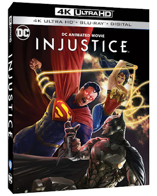 INJUSTICE on Digital and Blu-ray October 19th