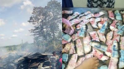 Dua Rumah Terbakar di Ajangale, Uang Puluhan Juta Ikut Terbakar-dulmyid