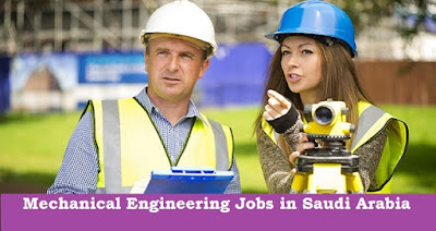 Mechanical Engineering Jobs in Saudi Arabia