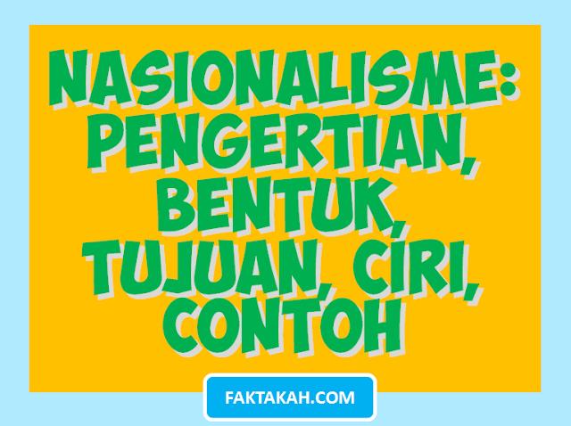 nasionalisme-adalah