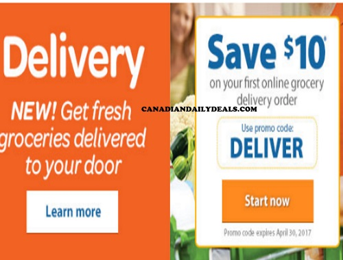 Canadian Daily Deals Walmart Grocery Delivery 10 Off