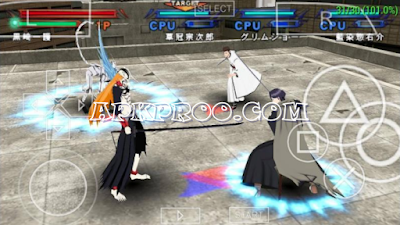 Download Game Bleach Heat The Soul 7 PPSSPP ISO Full Version Mod Texture [English Patch]