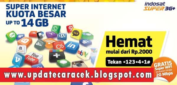 gambar Cara Cek Kuota Internet Im3 Indosat