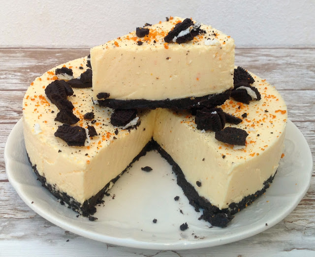 cheesecake-de-mandarina-y-oreo, tangerine-oreo-cheesecake
