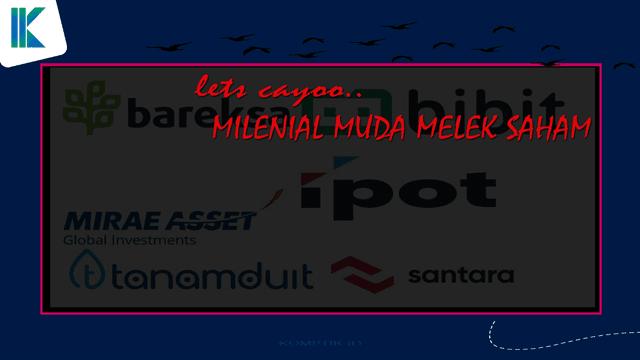 Milenial Muda Melek Saham