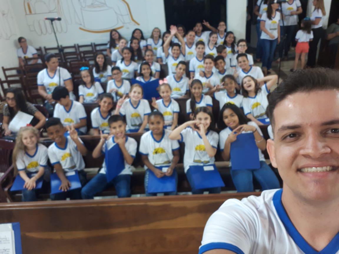 Crianças do Coral Santa Cecília de Cajobi vão participar de Workshop
