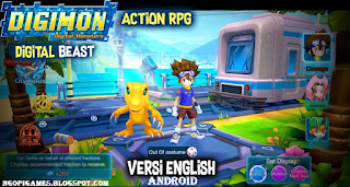 Download Digimon Digital Beast Apk English Android