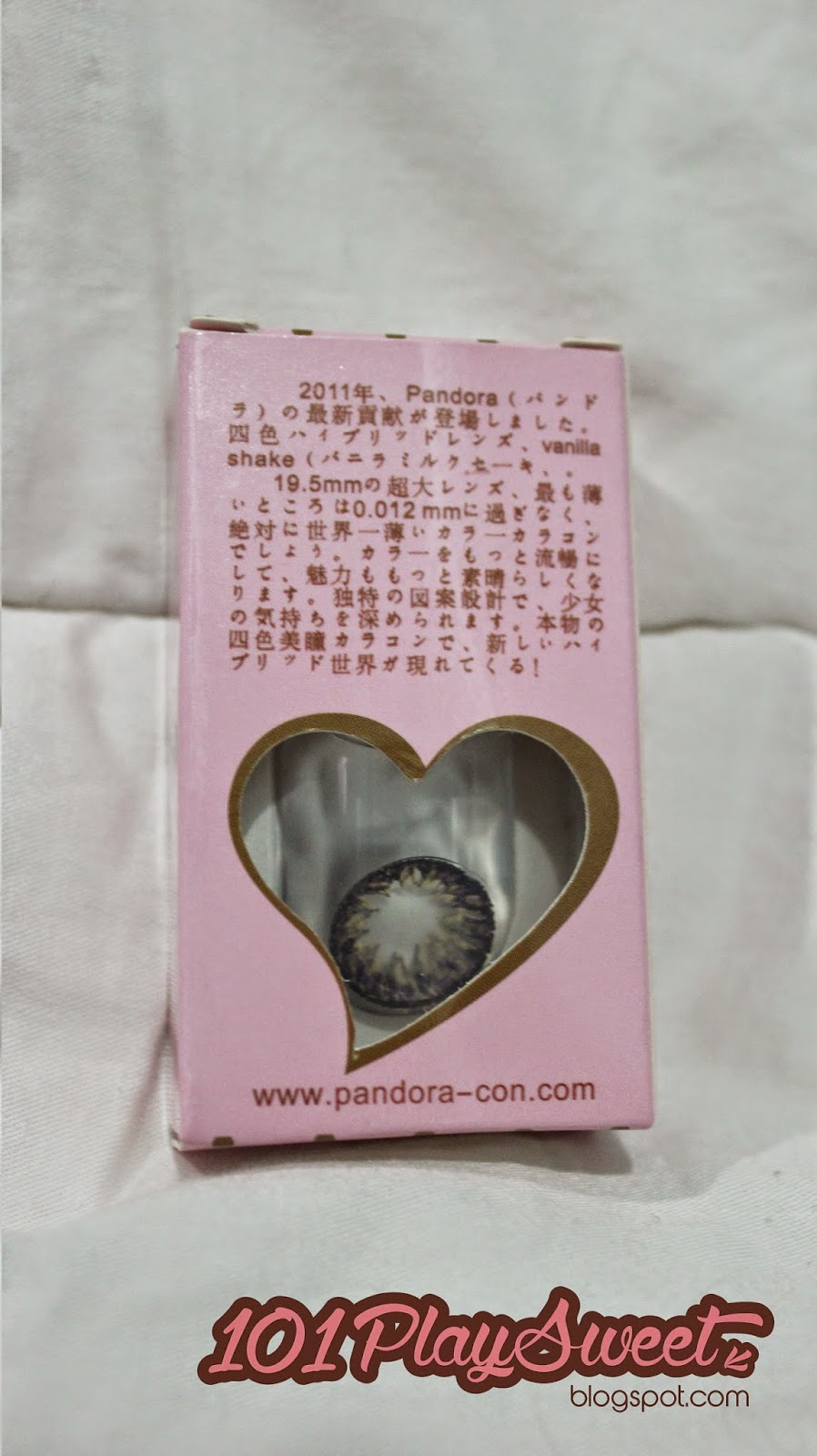 101 playsweet pandora vanilla shake in grey contact lens review so i do research on internet and i found this information something similar but uniquely different