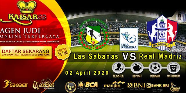 Prediksi Bola Terpercaya Liga Nicaragua Las Sabanas vs Real Madriz FC 02 April 2020