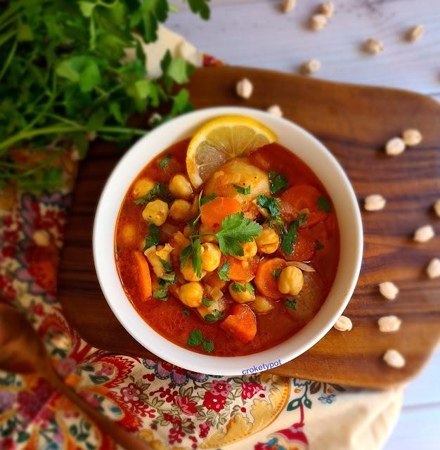 lebanese chickpea soup barahat
