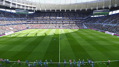 PES 2020 Stadium Tottenham Hotspur + Etihad with Aerial View by Jostike