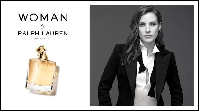 Jessica Chastain w kampanii perfum Ralph Lauren Woman