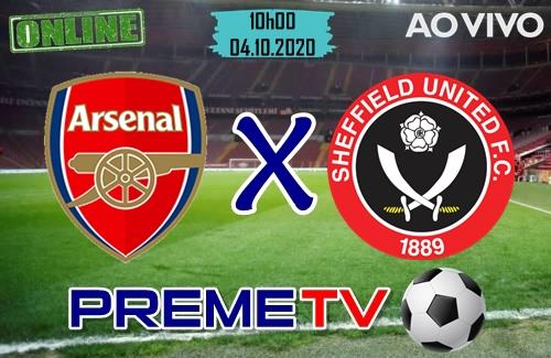 Arsenal x Sheffield Hoje Ao Vivo