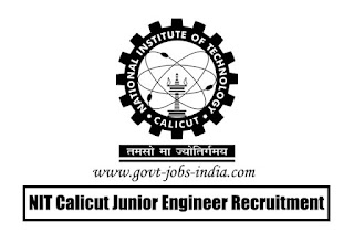 NIT Calicut Junior Engineer Recruitment