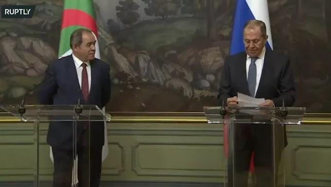 وزير الخارجية الروسي يؤكد على دعم بلاده لجهود الأمم المتحدة لحل النزاع في الصحراء الغربية.