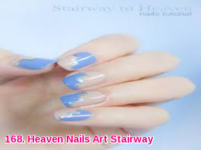 Heaven Nails Art Stairway