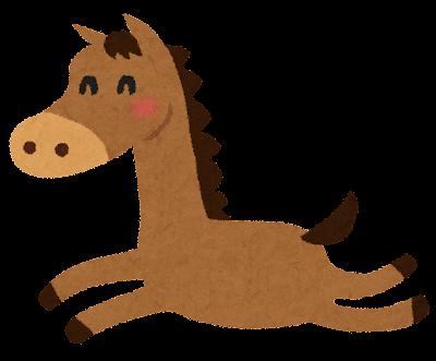 馬のイラスト・午年