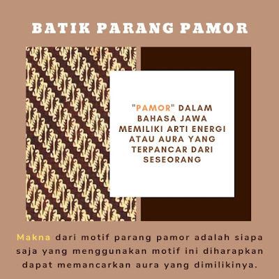 motif batik parang pamor