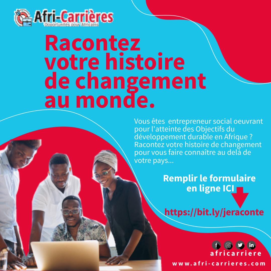 Afri-Carrières| bourses, Conférences, Compétitions, Emploi, Programme