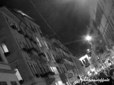 lights on the city, milano,night