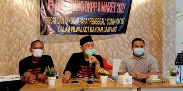 Permohonannya Ditolak DKPP, KRLUPB: Putusan Ngaco