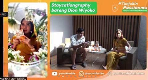 Trik Fotografi Pakai Ponsel dari Dion Wiyoko, Gampang Dicoba!