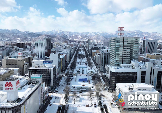 How to get to Sapporo in Hokkaido Japan from Manila Philippines?