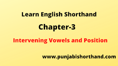 Intervening Vowels and Position