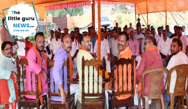 Bjp workshop in Parahi