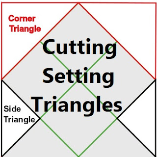 cutting setting triangles-quilt setting triangles-quilt corner triangles-setting triangles