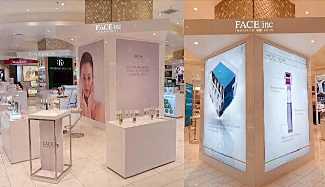 The Face Inc, Parkson Elite, One Utama Shopping Mall, 5th outlet, shopping mall, beauty
