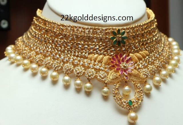 Reliance Uncut Diamond Necklace
