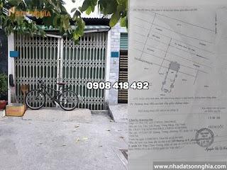 Nhà cấp 4 mặt tiền đường số 9 phường 9 Gò Vấp - 3.2x11m giá 3.9 tỷ (MS 065)