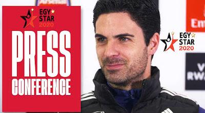 """مؤتمر """" ارتيتا """" مدرب ارسنال لـ لقاء ليفربول في الجولة ال 30 من الدوري الإنجليزي - Arsenal Conference  GW30"""