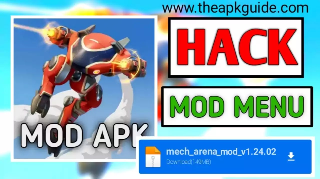 mech arena mod apk unlimited money and gems downloadmech arena mod apk unlimited money and gems download