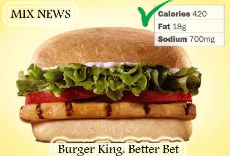 Diet,debris,wors,double grip,sandwiches,Burger King: Better Bet , Diet debris and worst double grip sandwiches