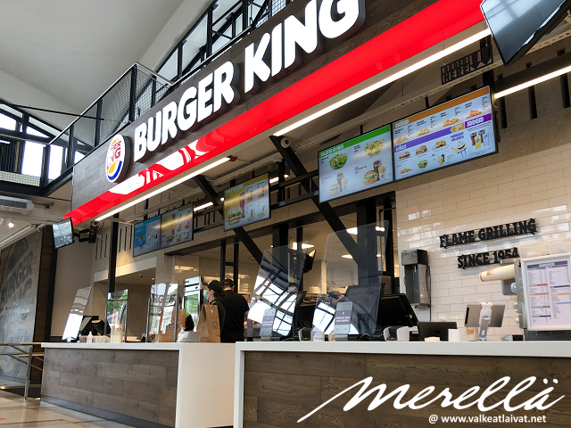 Missä syödä Tallinnassa Burger King Eesti